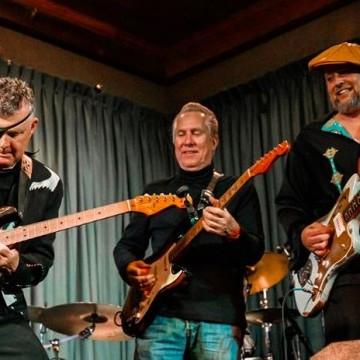 Texas Blues Guitar Summit ft. Anson Funderburgh, Mike Morgan & Shawn Pittman | Het toonaangevende Blues & Roots - festival van Nederland - Moulin Blues Ospel