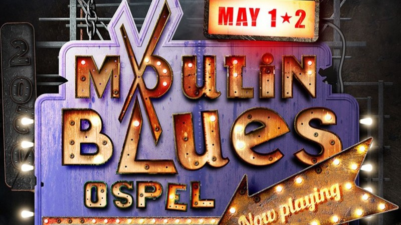 De poster voor Moulin Blues 2020! | Het toonaangevende Blues & Roots - festival van Nederland - Moulin Blues Ospel