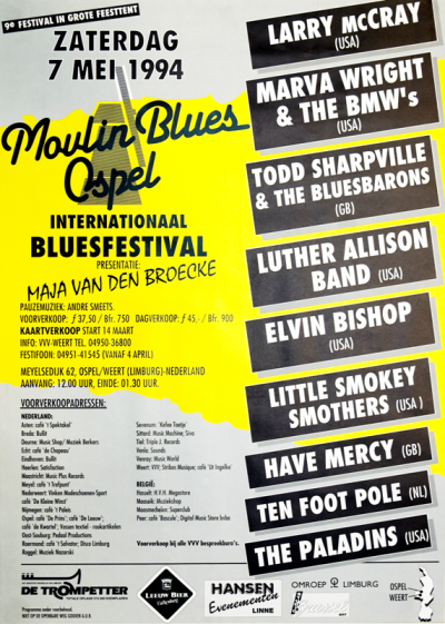 Dave Walter Bmw >> Historie | Moulin Blues Ospel