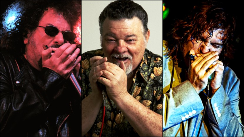 The Blues Harp Explosion!  Ft. James Harman, Magic Dick, Giles Robson | Het toonaangevende Blues & Roots - festival van Nederland - Moulin Blues Ospel