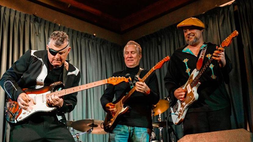 Texas Blues Guitar Summit ft. Anson Funderburgh, Mike Morgan & Shawn Pittman   Het toonaangevende Blues & Roots - festival van Nederland - Moulin Blues Ospel